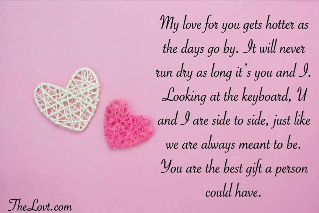 Romantic Love Messages For Him - TheLovt